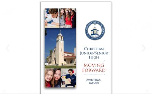 Christian Jr/Sr High Reopening Plan